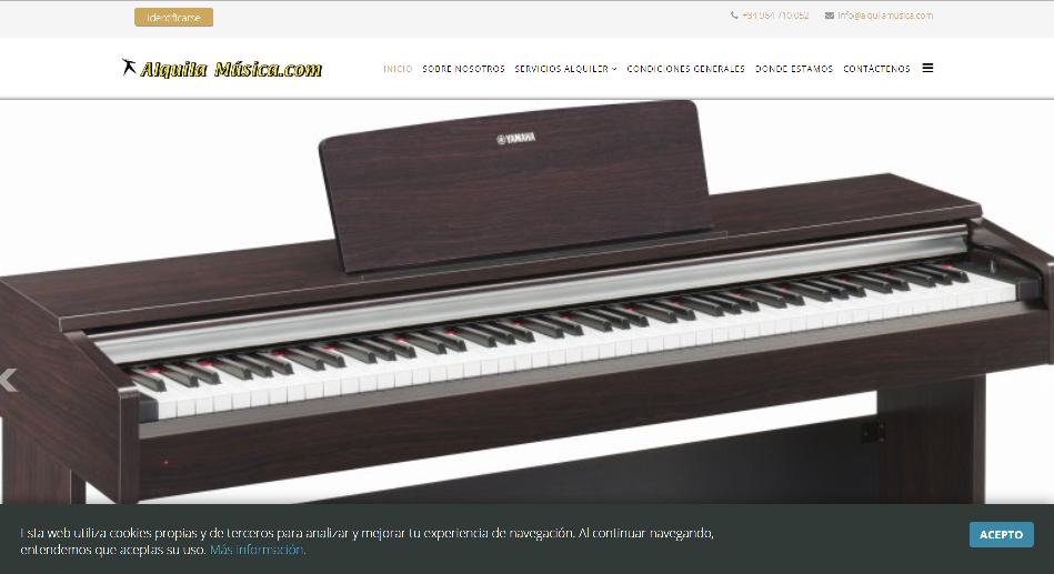 Alquila Música - Descubre nuestro nuevo sistema de alquiler y renting para instrumentos, un modo tranquilo de disponer de un nuevo instrumento