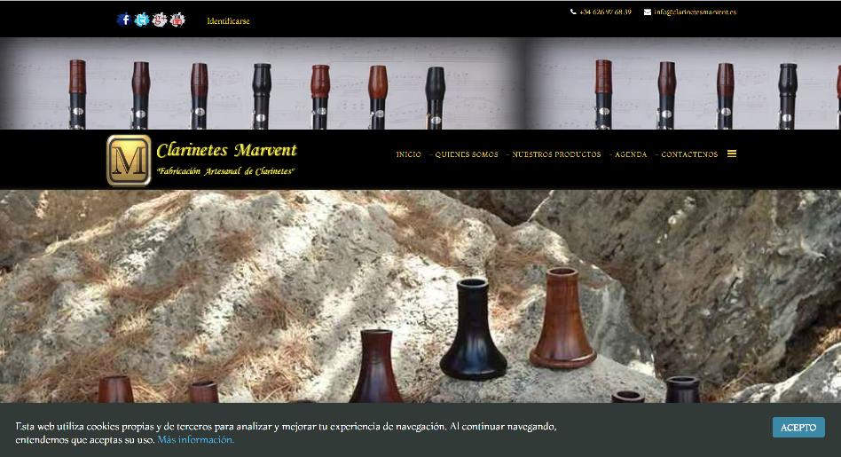 Clarinetes Marvent - Dedicados a la fabricación artesanal y exclusiva de clarinetes por encargo en España.